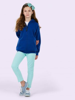 UC 506 Childrens Classic Full Zip Hooded Sweatshirt